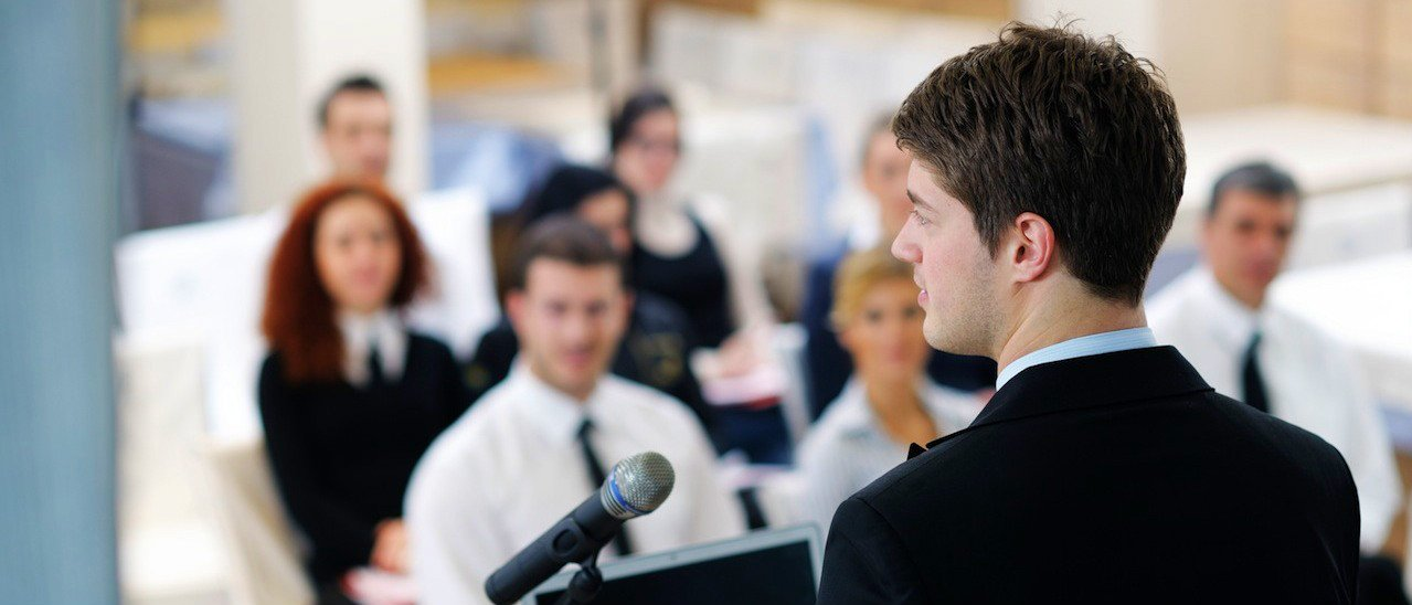 Public speaking and executive training