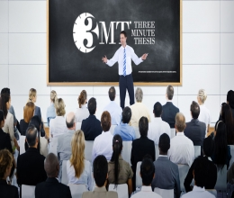 Three Minute Thesis -3MT- Presentation Coaching (P3M)