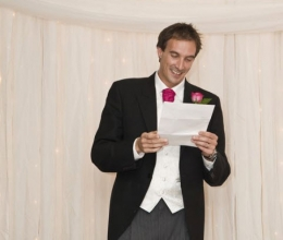 Public Speaking For Dinners, Weddings & Social Occasions (PSW)